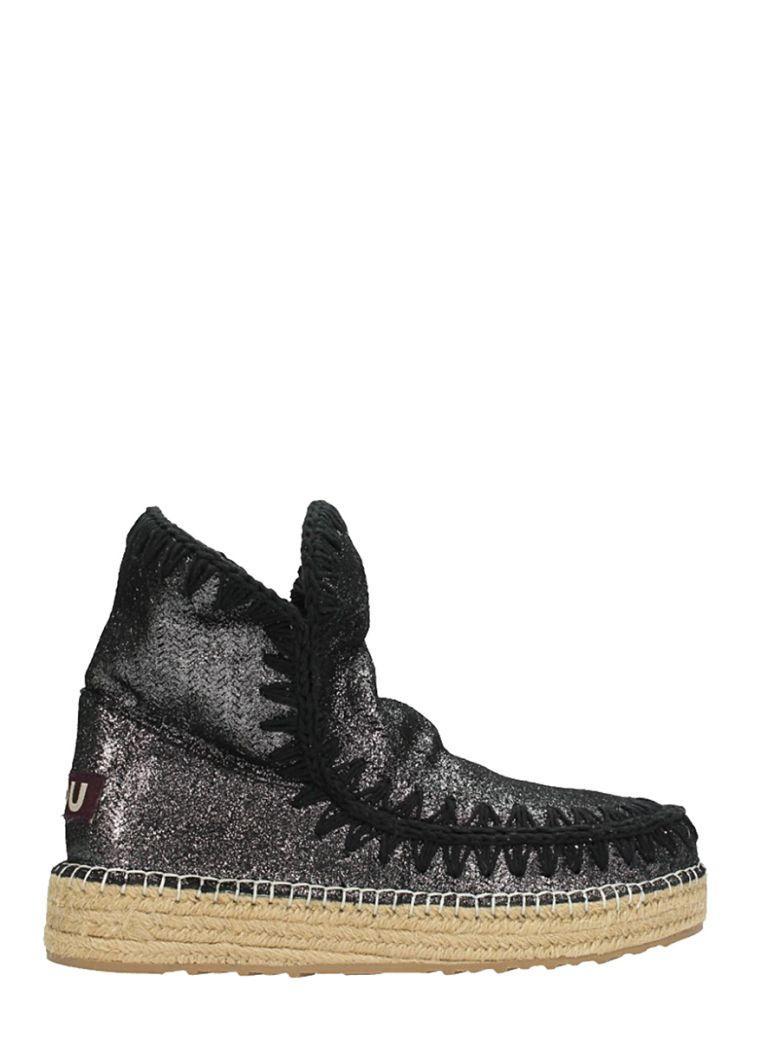 Mou Eskimo 18 Boots In Black