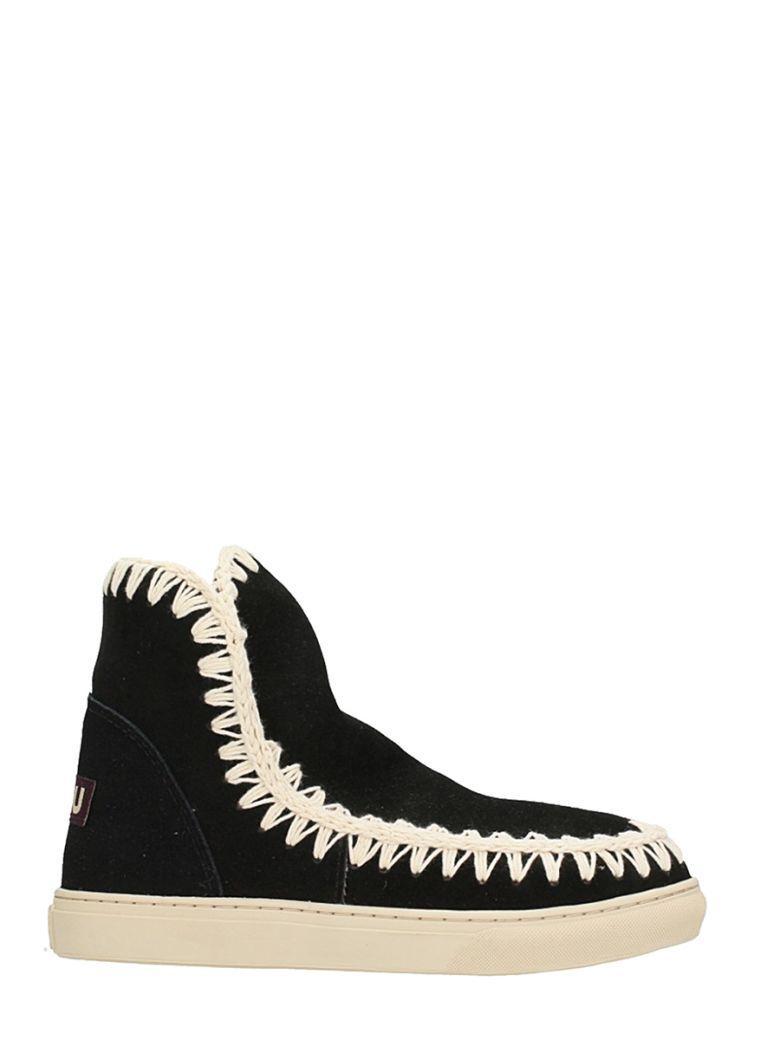 Mou Eskimo Sneakers In Black