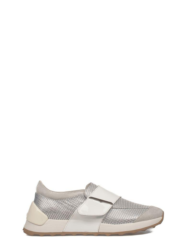 Alberto Guardiani Gray Sport Lady Suede Slip On Sneakers