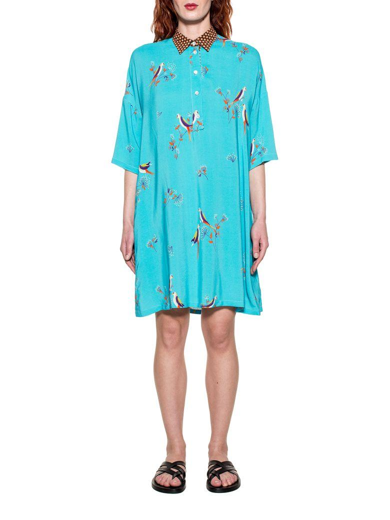 Bagutta Turquoise Selene Dress In Blue