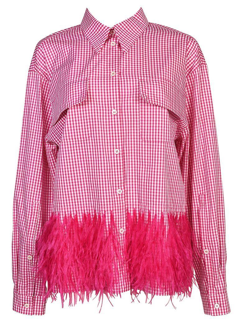 N°21 Long Sleeves Shirt In Quadro