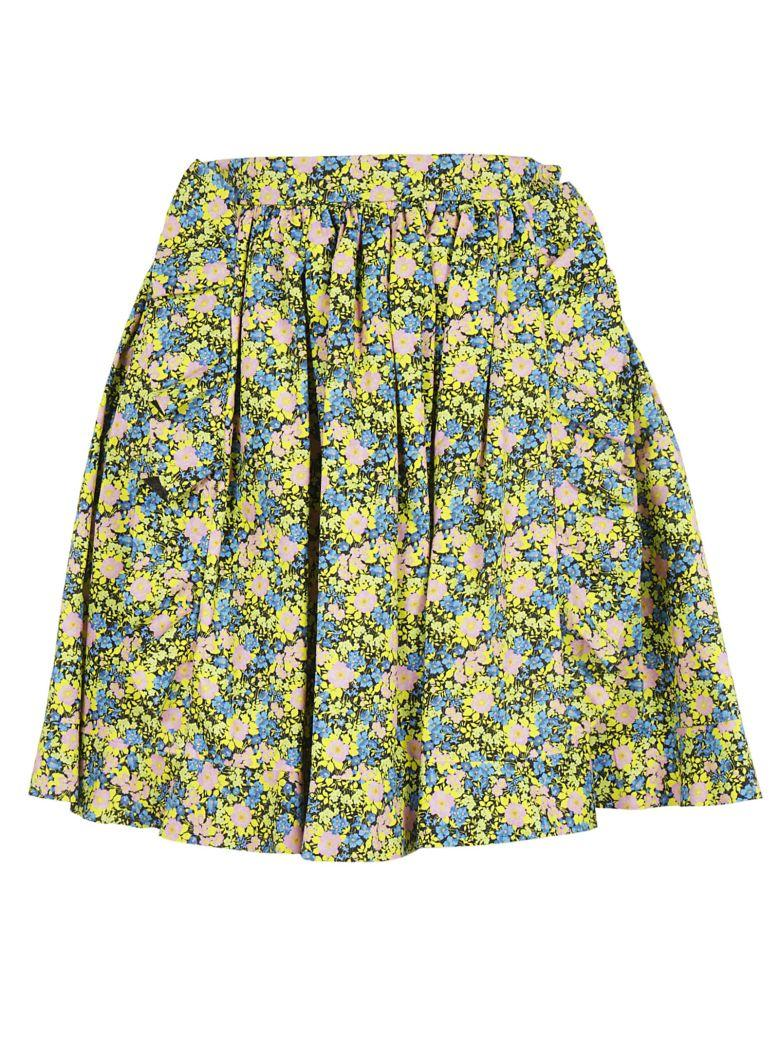 Msgm Floral Skirt In 99
