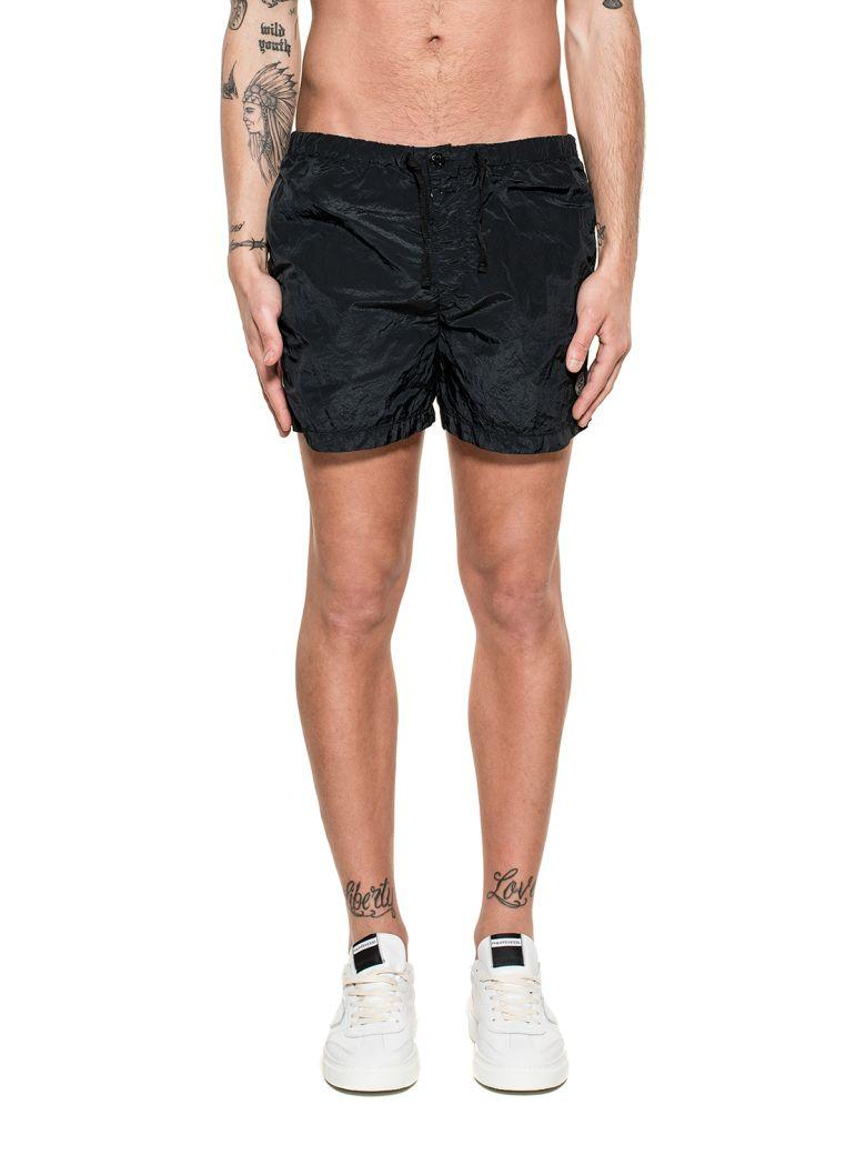 Stone Island Black Swim Short