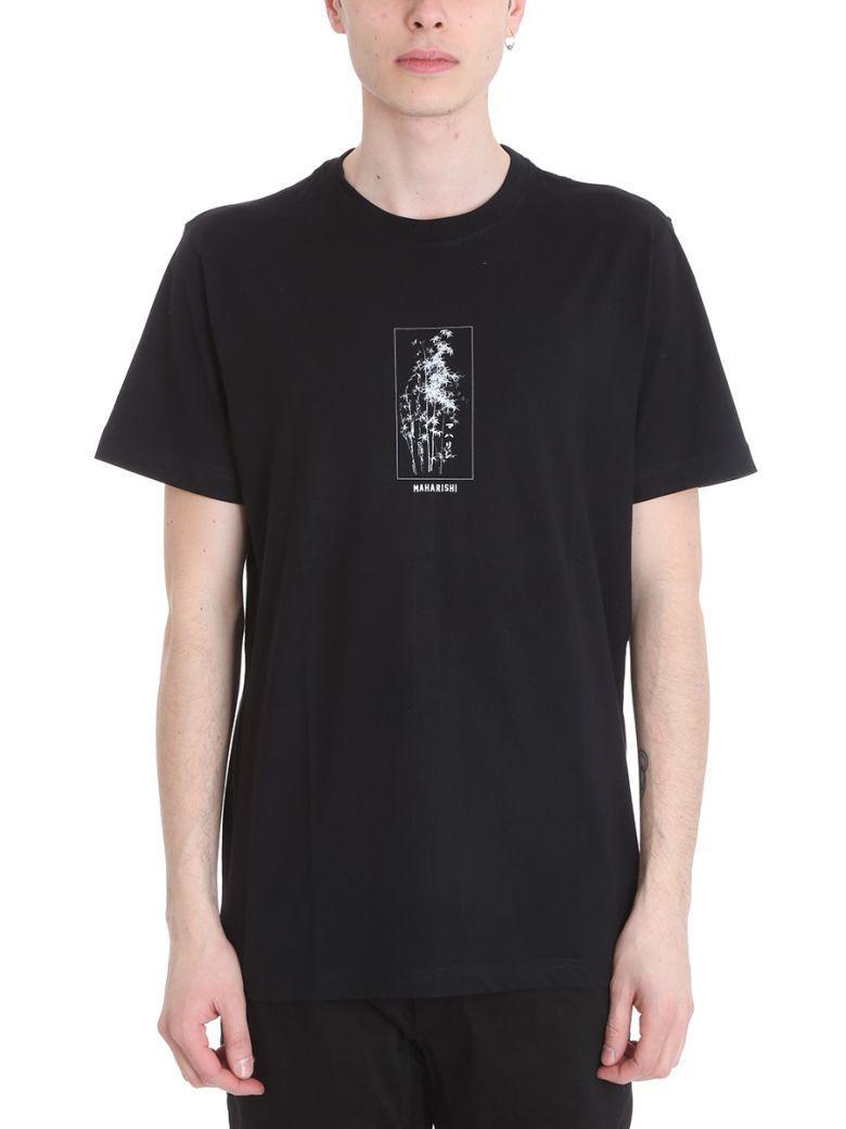 Maharishi Bamboo Black Cotton T-shirt