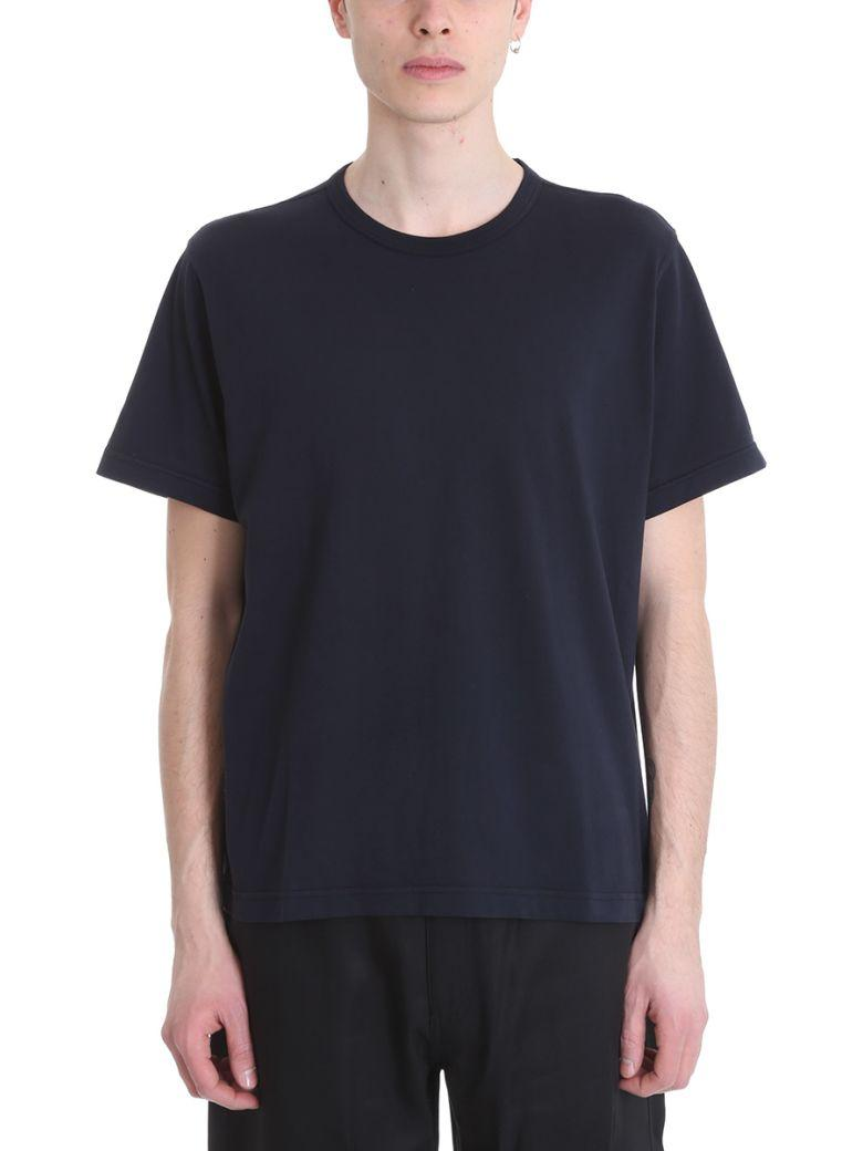 Our Legacy Box Cotton T-shirt In Blue