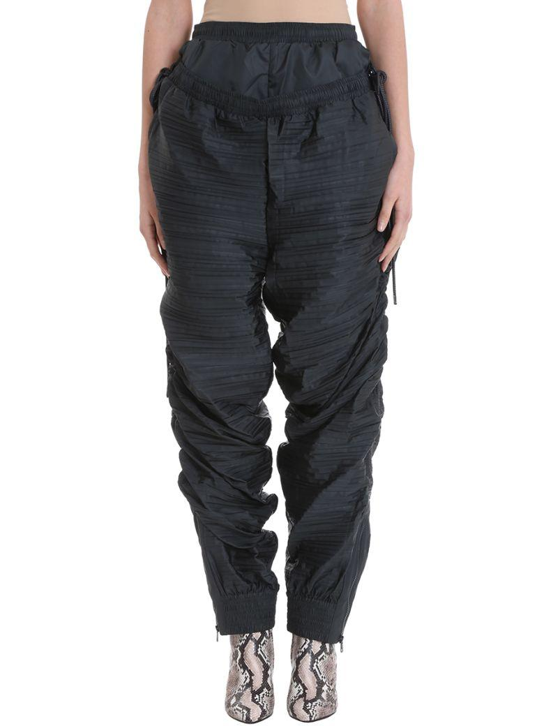 Y/project Pleated Green Viscosa Trousers