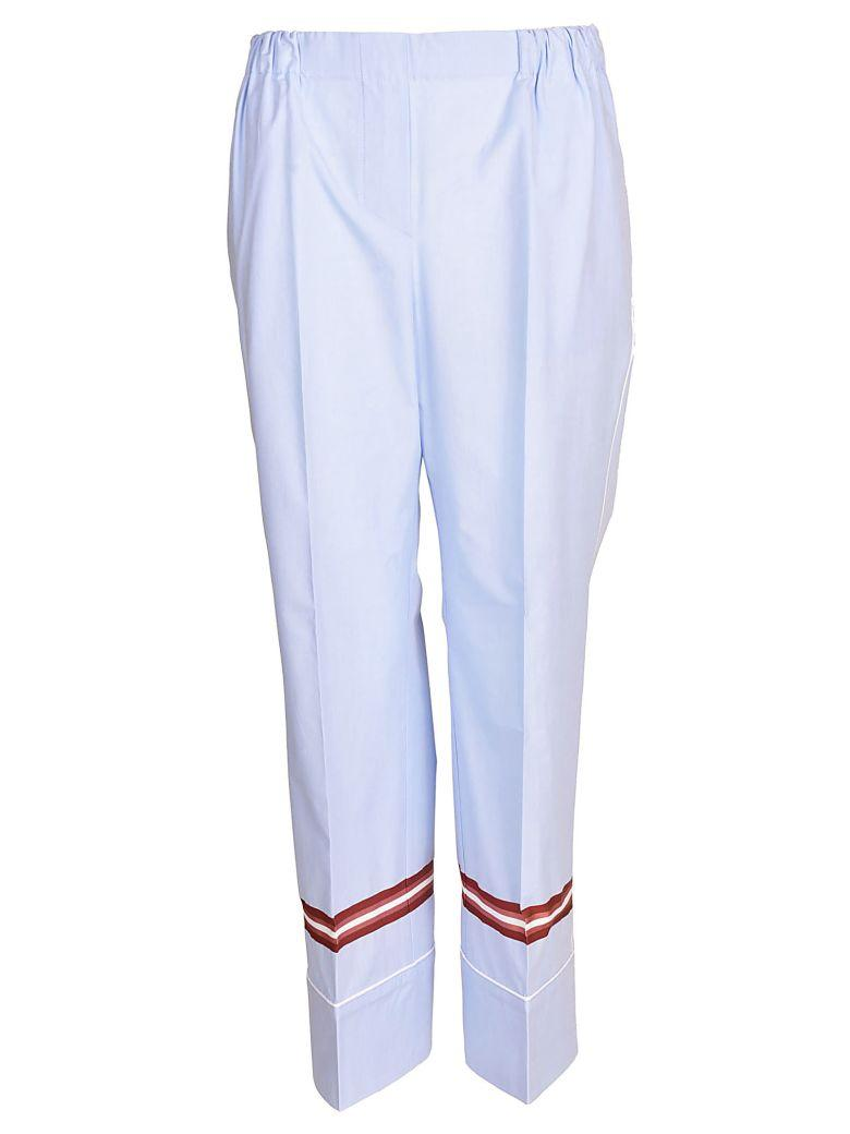 N°21 Classic Trousers In Rigato