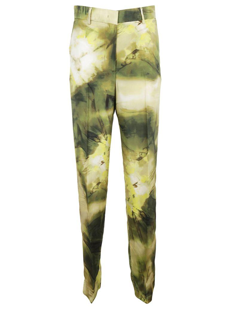 Msgm Abstract Print Tailored Pants In 38