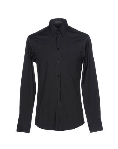 Versace Shirts In Black