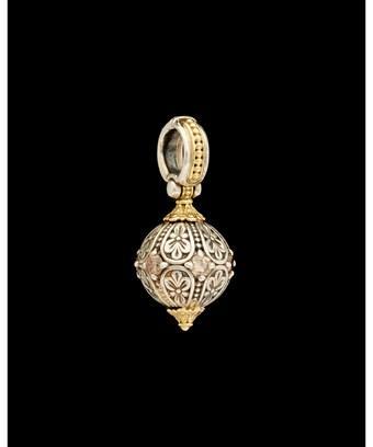 Konstantino Hermione 18k & Silver 0.60 Ct. Tw. White & Brown Diamond Enhancer In Nocolor