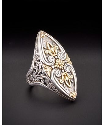 Konstantino Eros 18k & Silver Ring In Nocolor
