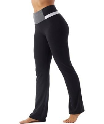 Bally High Waist Blocked Pant In Nocolor