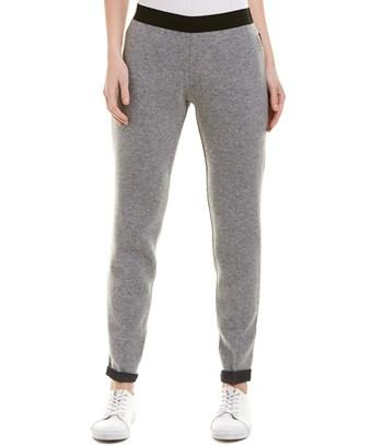 Moncler Wool Sweatpant In Nocolor