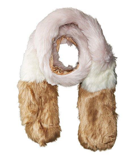 Hat Attack Faux Fur Scarf, Blush