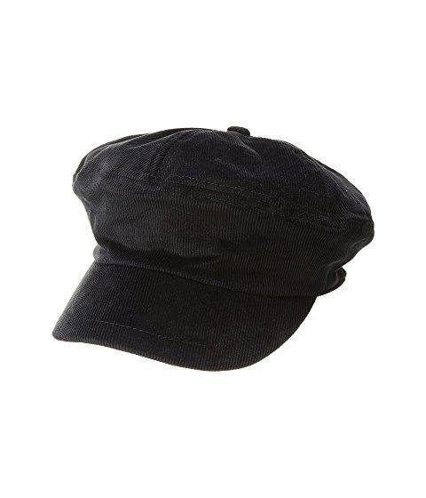 Steve Madden Corduroy Baker Cap In Black
