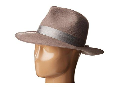 Lack Of Color The Veto Wool Felt Fedora In Grey