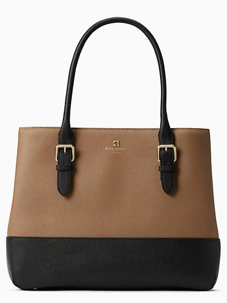 Kate Spade Cove Street Airel In Dune/black
