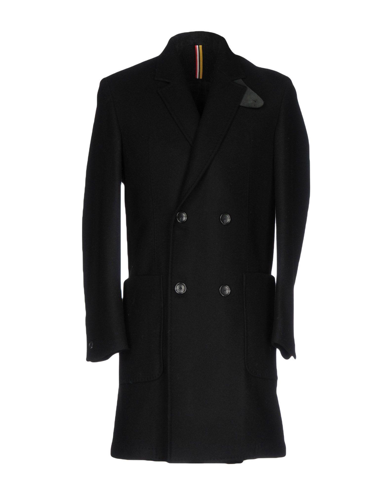 Low Brand Coat In Black