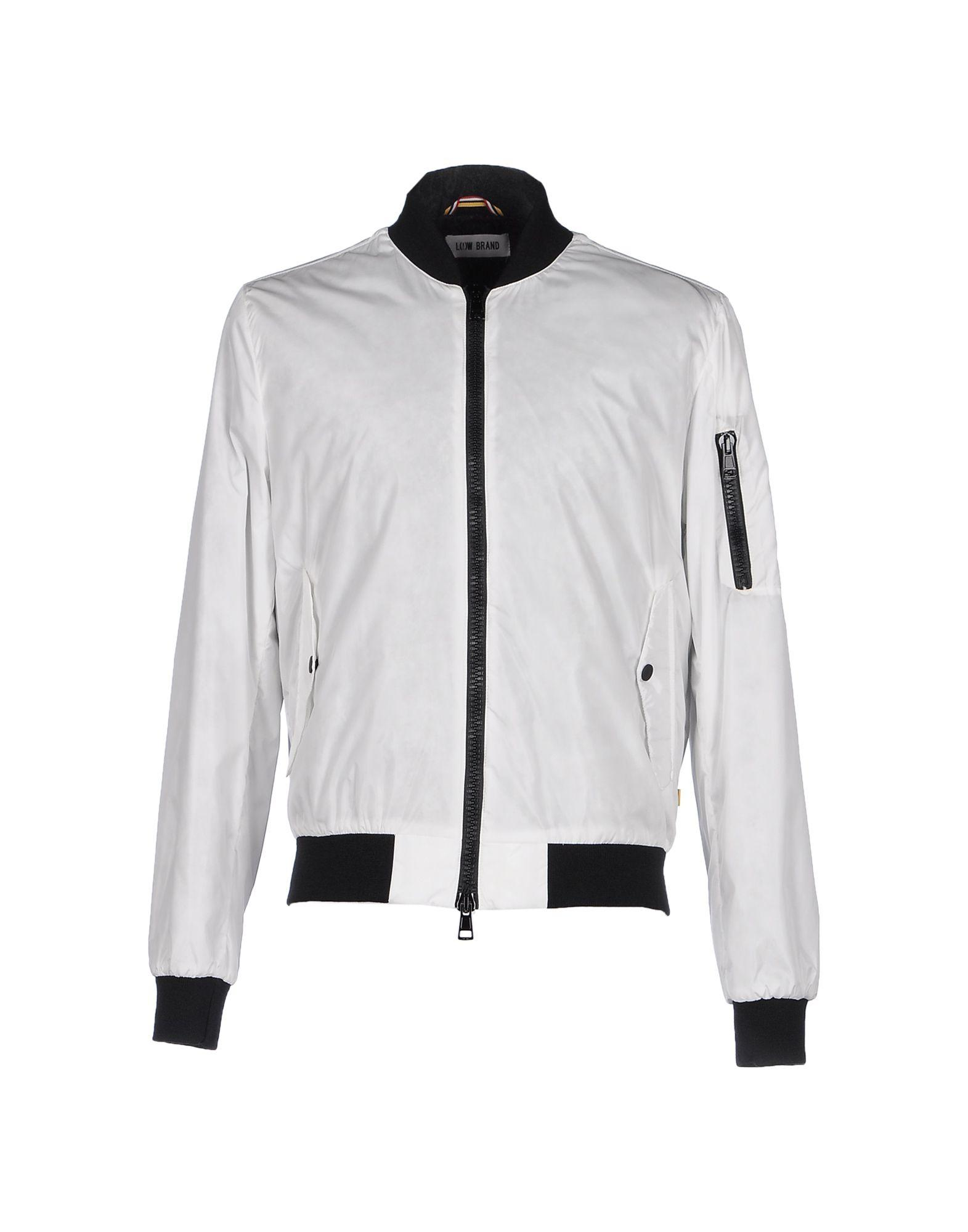 Low Brand Jackets In White