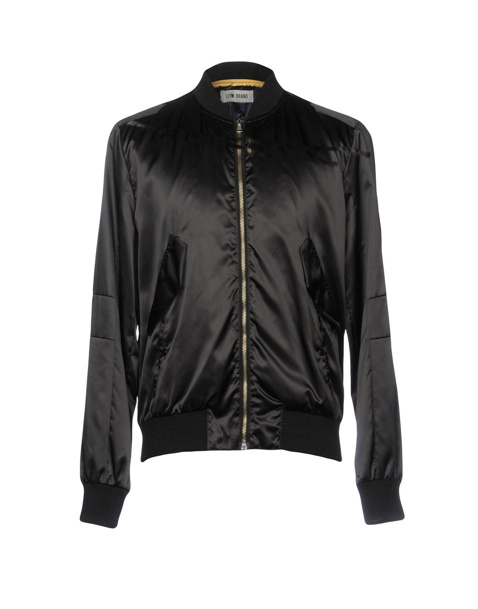Low Brand Jackets In Black