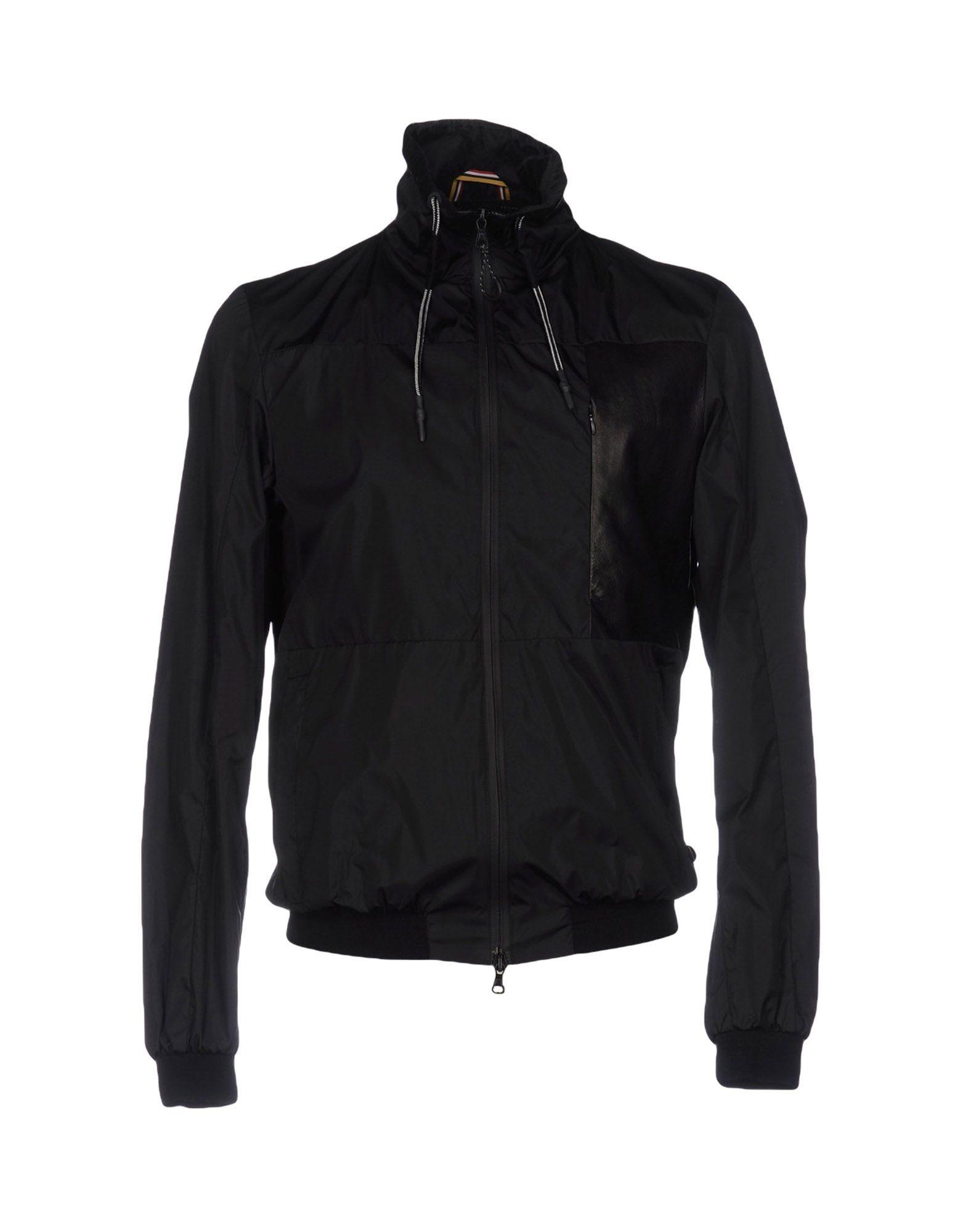 Low Brand Jackets In Black