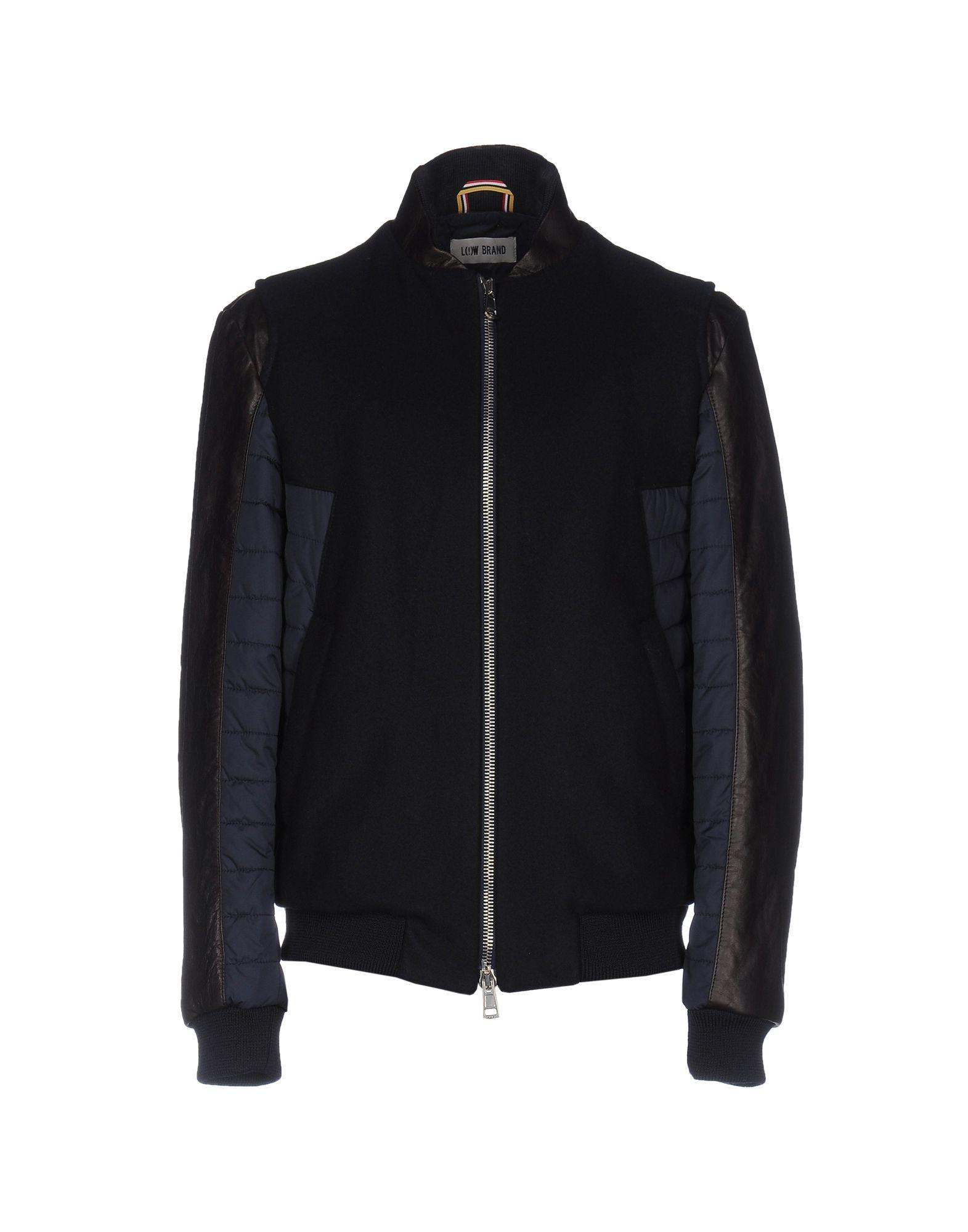 Low Brand Bomber In Blue