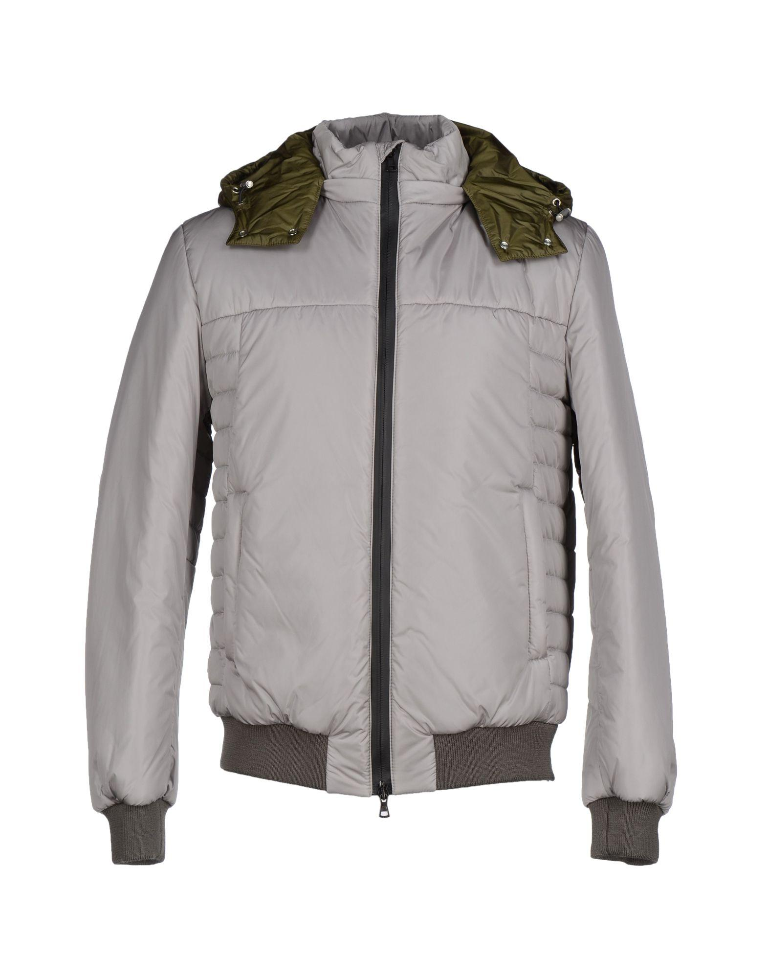 Low Brand Bomber In Light Grey