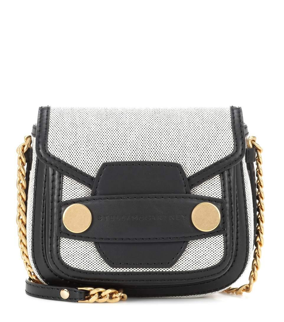 Stella Mccartney Stella Popper Mini Shoulder Bag