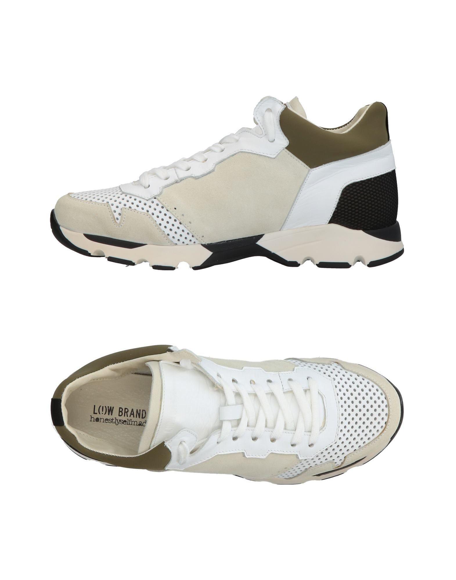 Low Brand Sneakers In Beige
