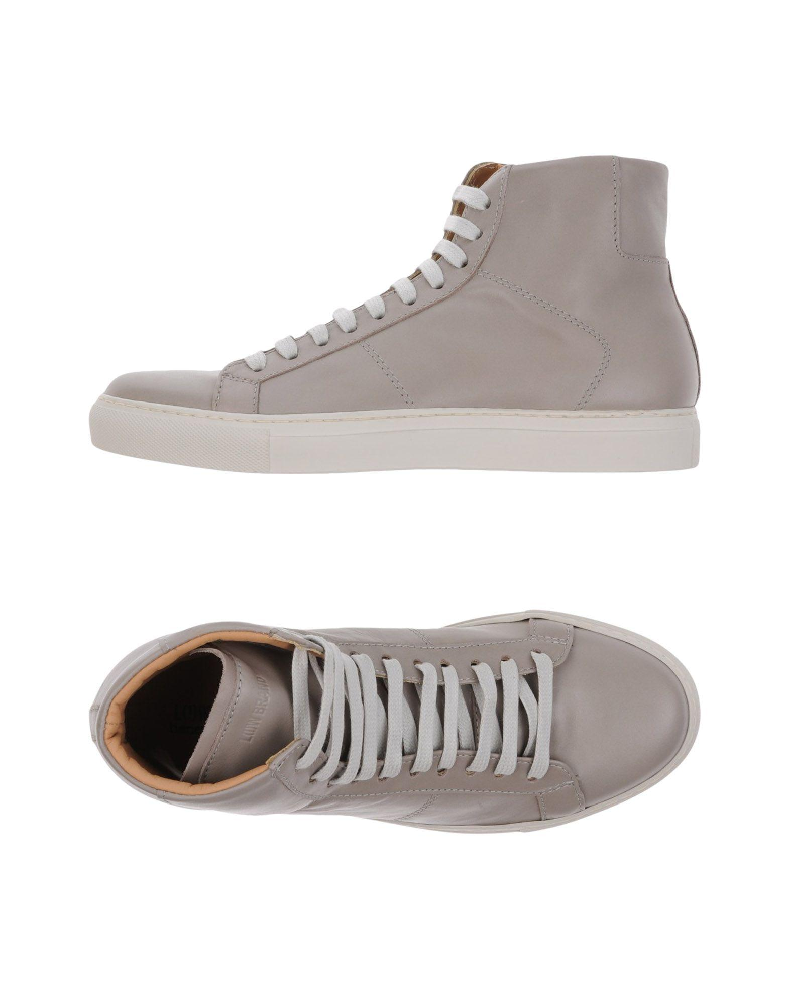 Low Brand Sneakers In Dove Grey