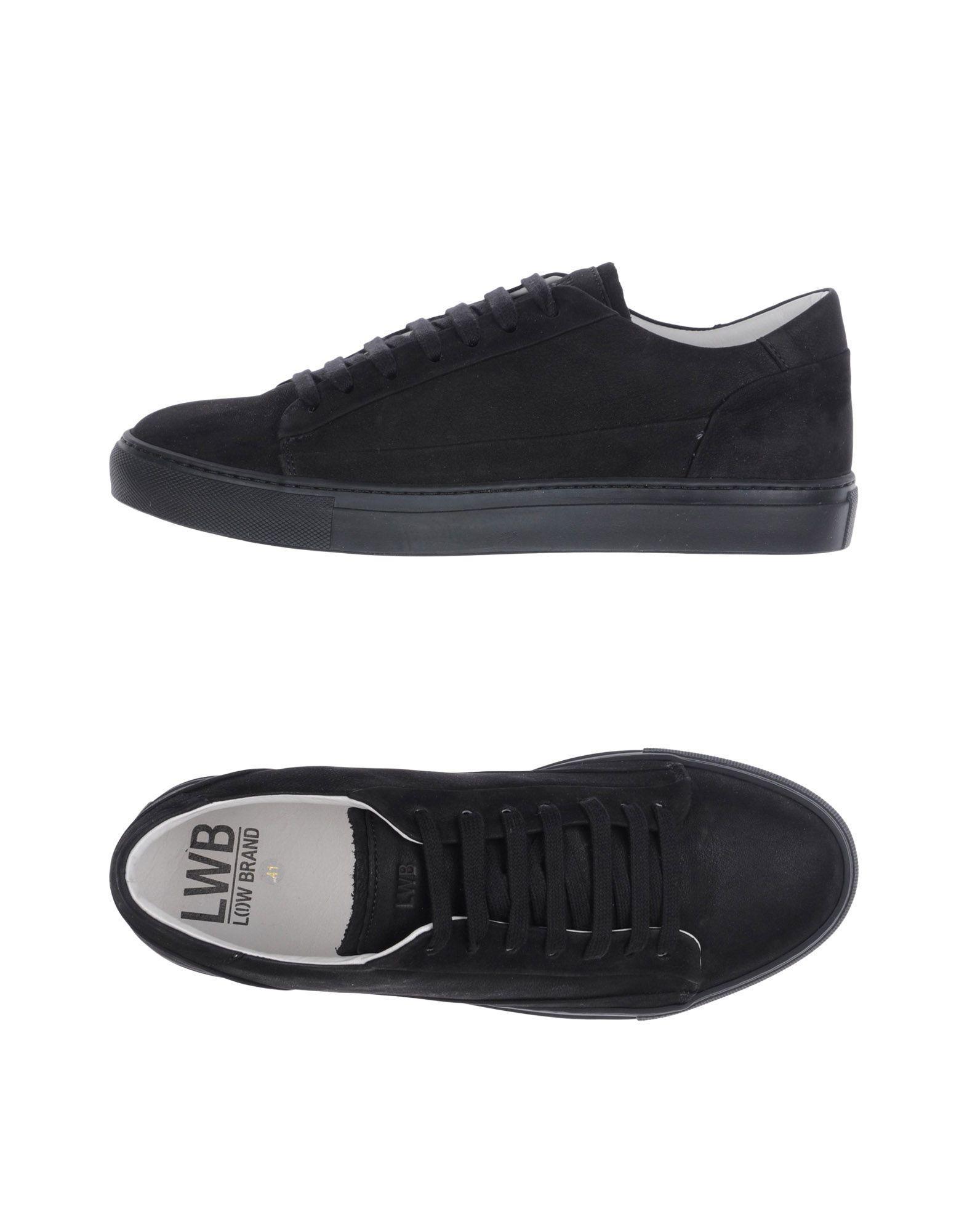 Low Brand Sneakers In Black
