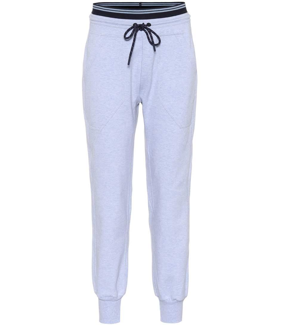 Lndr Cotton-blend Trackpants In Blue