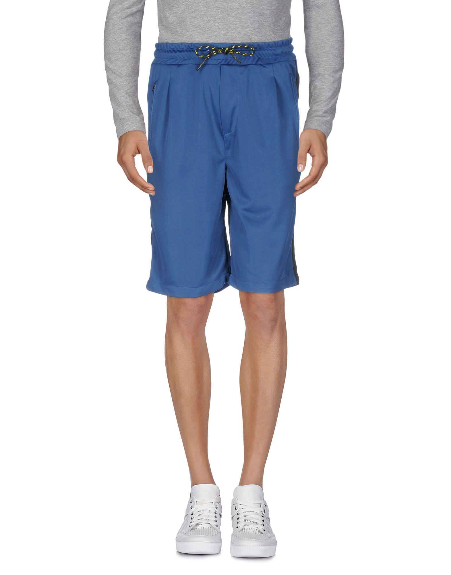 Low Brand Shorts & Bermuda In Blue