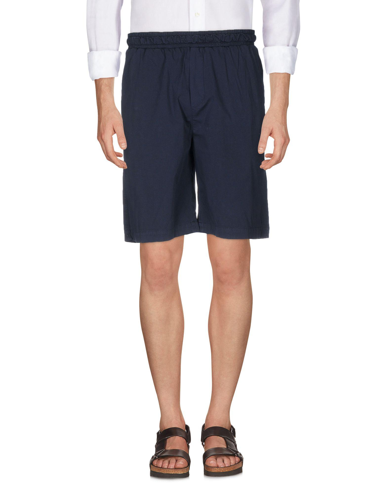 Low Brand Bermudas In Dark Blue