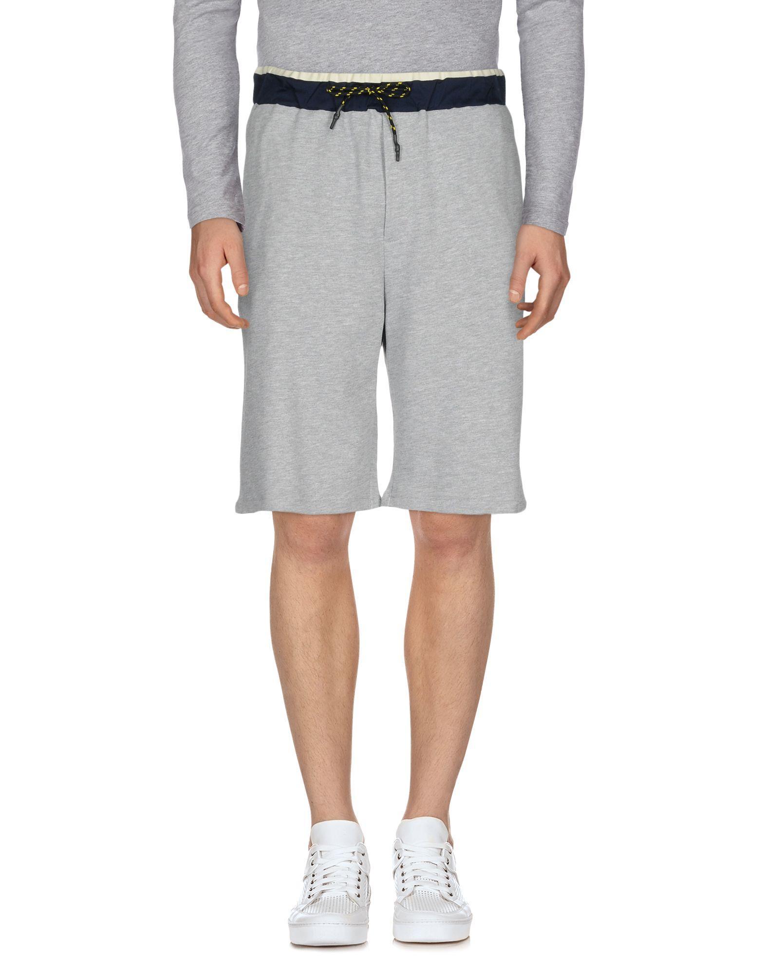 Low Brand Shorts & Bermuda In Grey