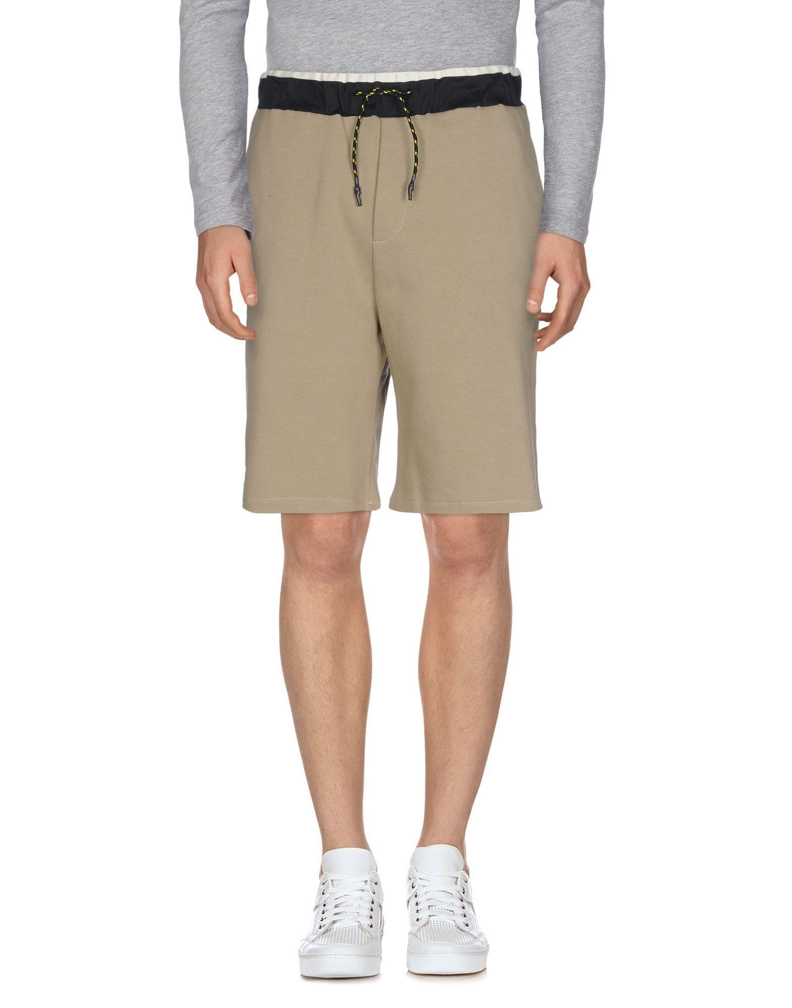 Low Brand Shorts & Bermuda In Khaki