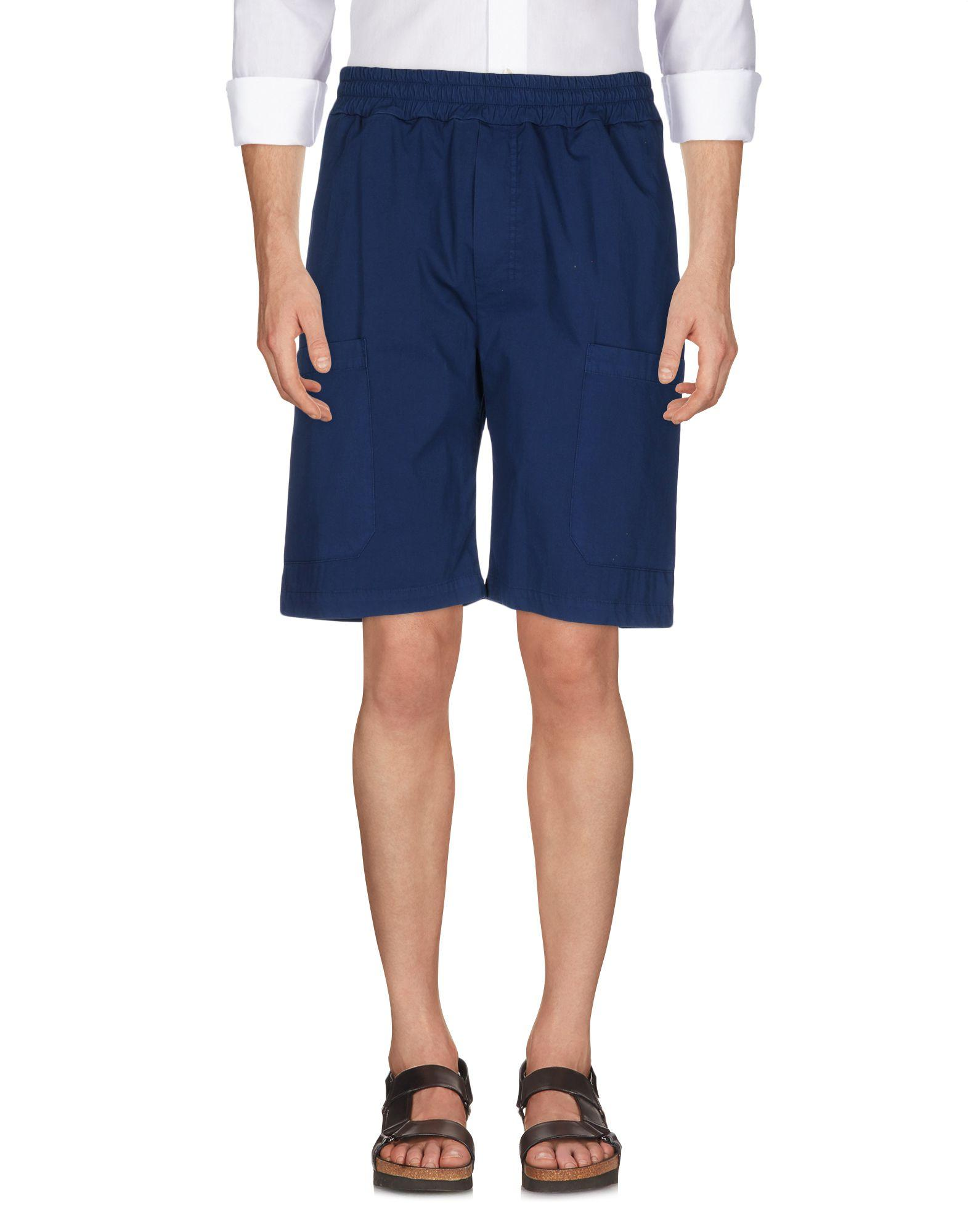 Low Brand Shorts & Bermuda In Dark Blue