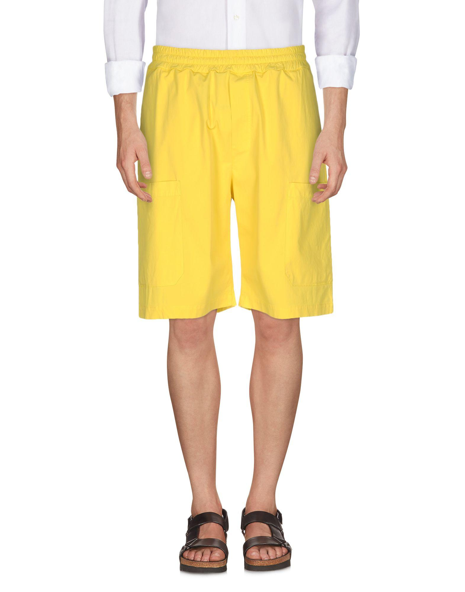 Low Brand Shorts & Bermuda In Yellow