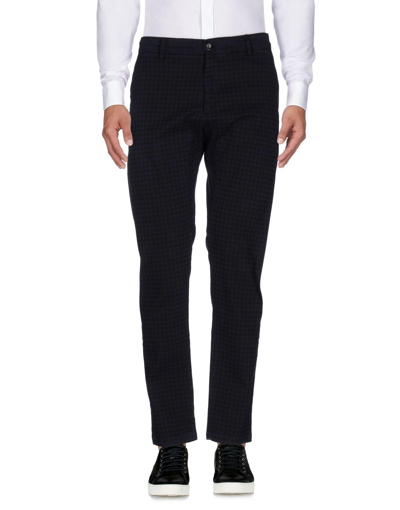 Low Brand Casual Pants In Dark Blue