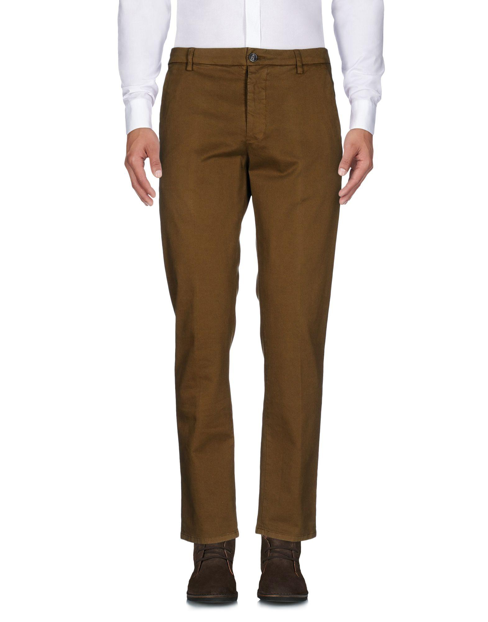 Low Brand Casual Pants In Military Green