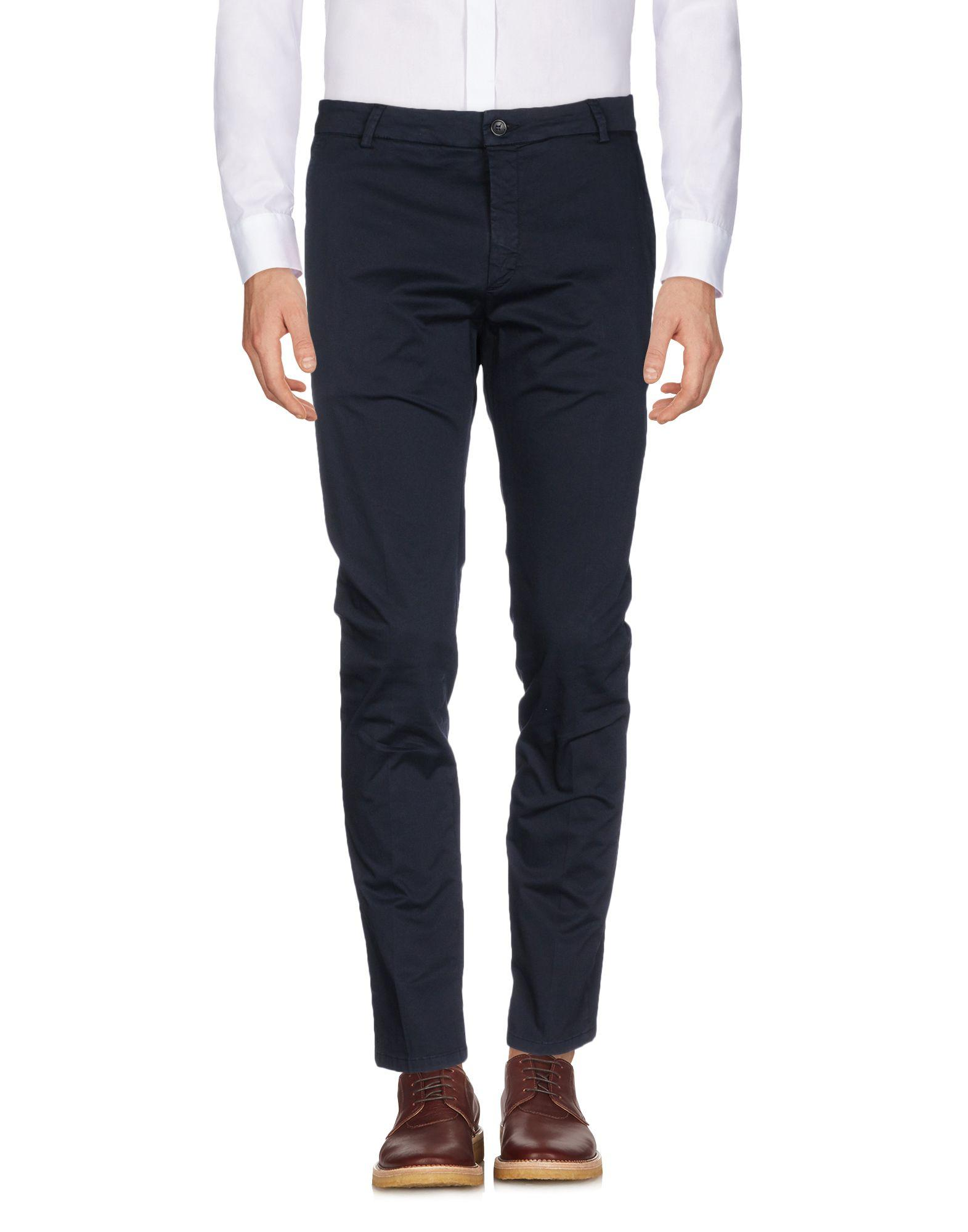 Low Brand Casual Pants In Dark Blue