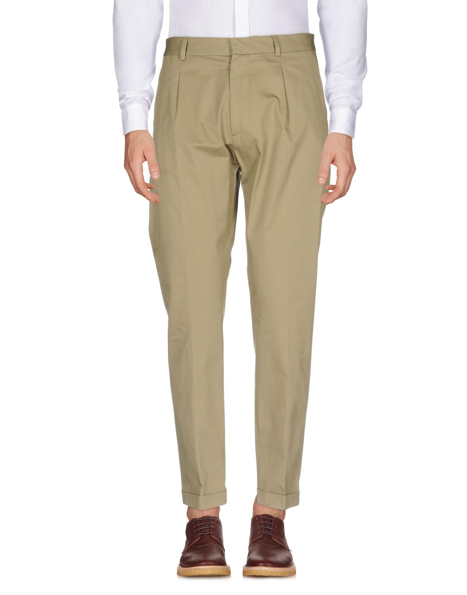 Low Brand Casual Pants In Khaki