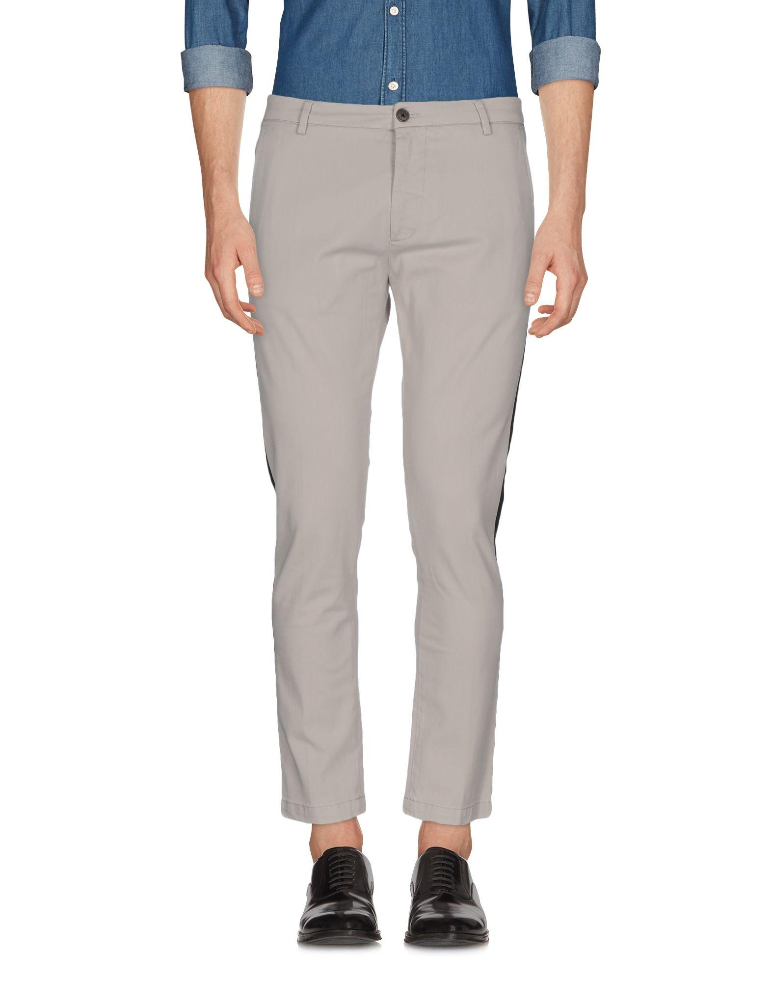 Low Brand Casual Pants In Light Grey