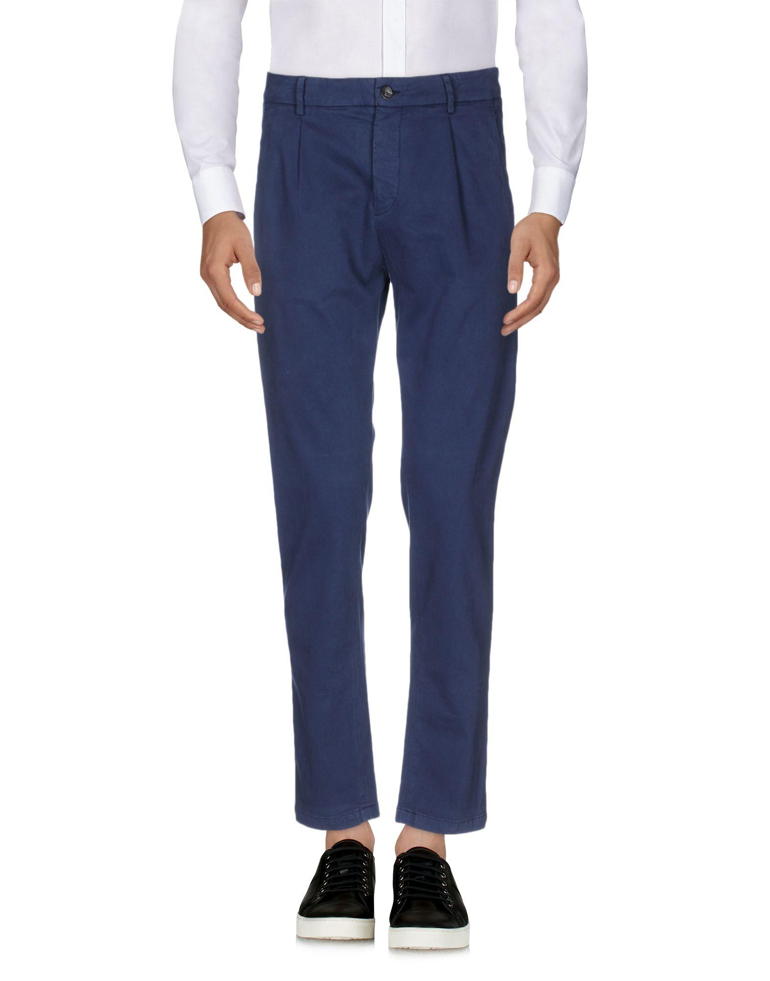 Low Brand Casual Pants In Blue