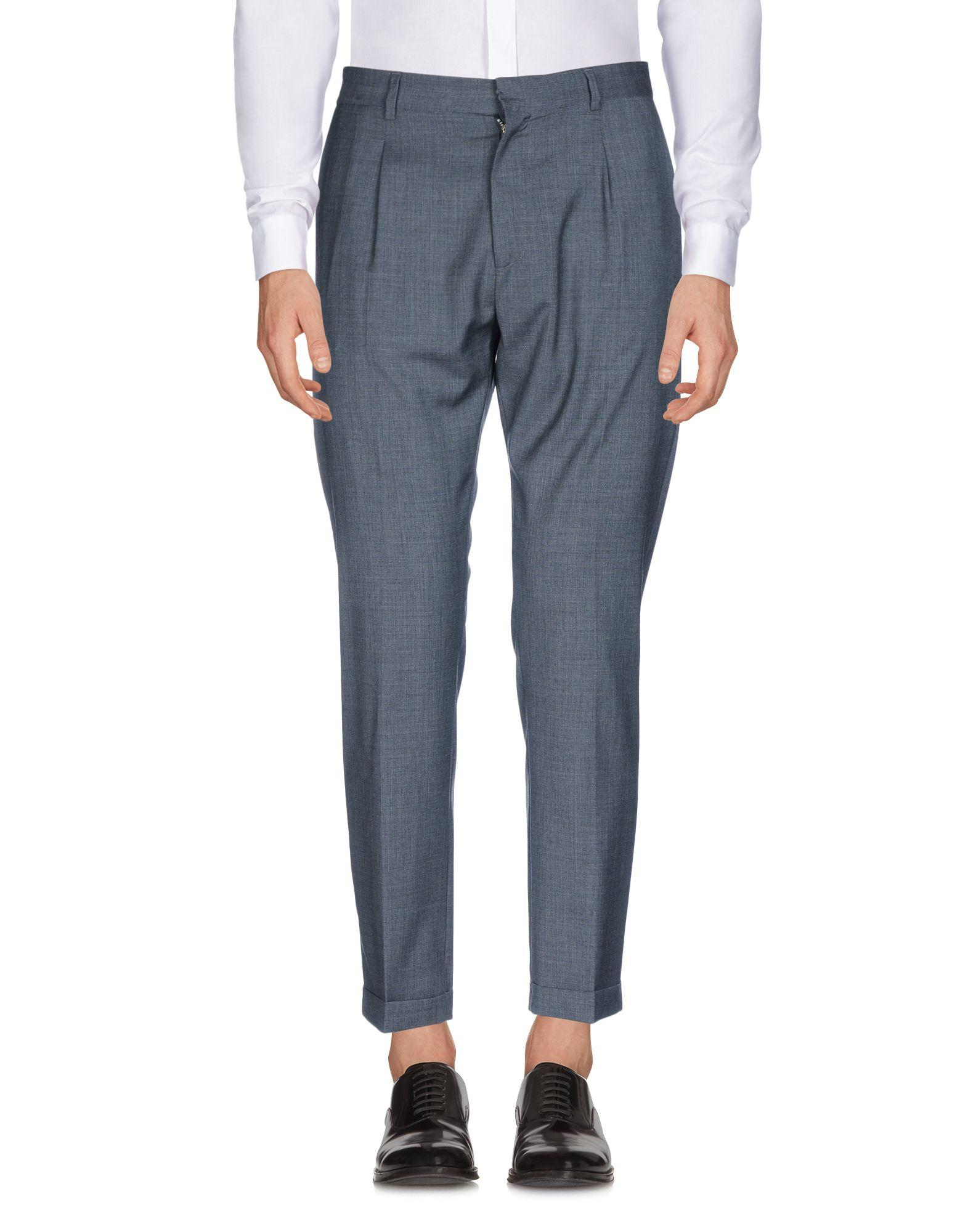 Low Brand Casual Pants In Lead