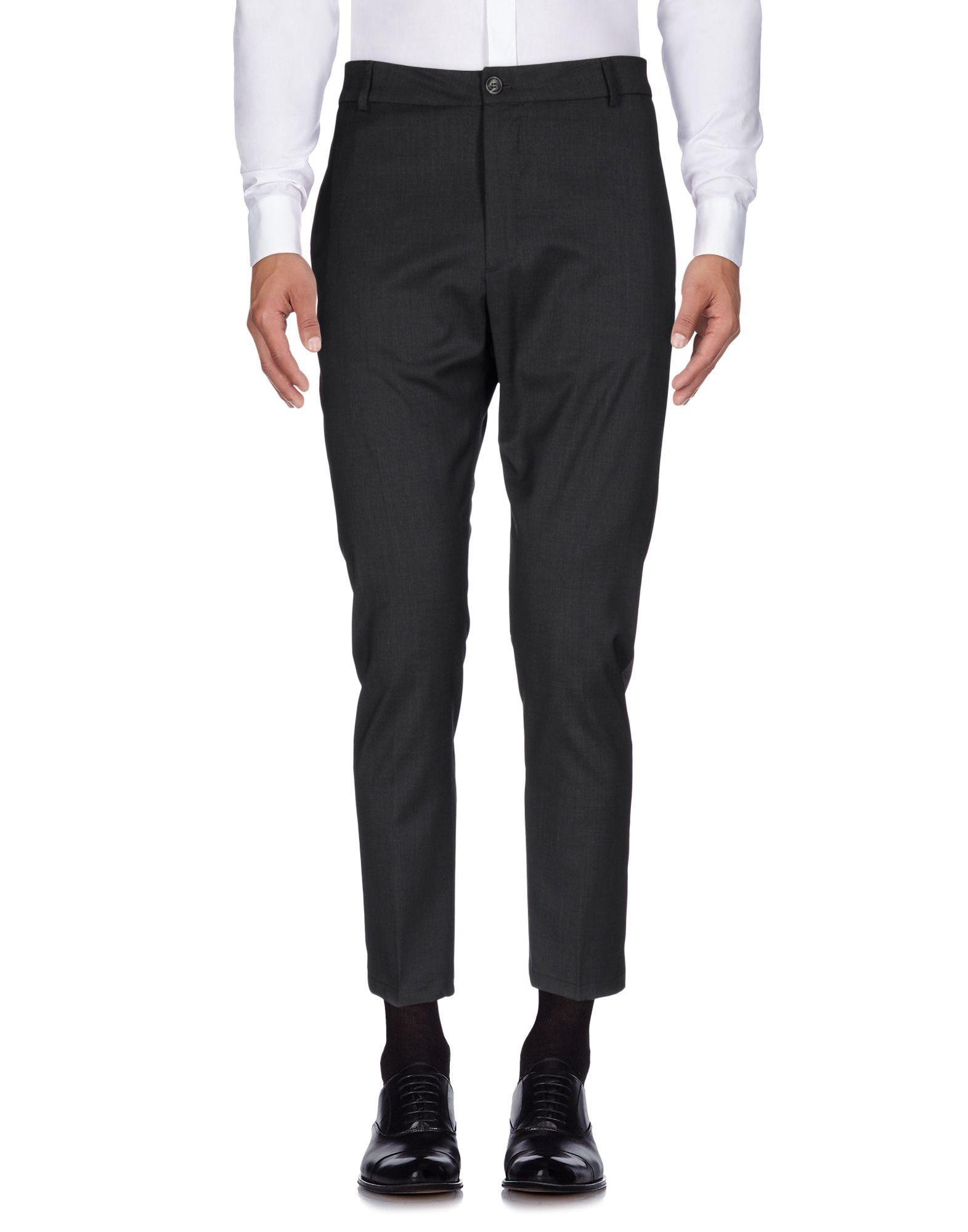 Low Brand Casual Pants In Steel Grey
