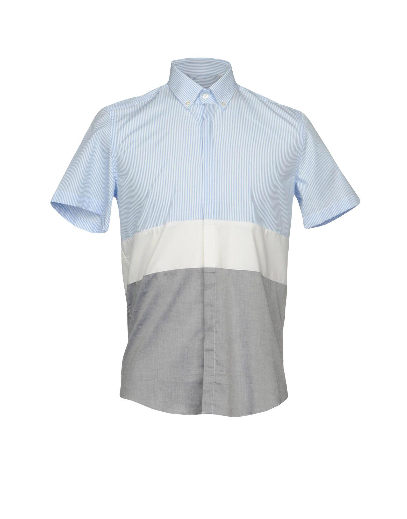Low Brand Shirts In Sky Blue