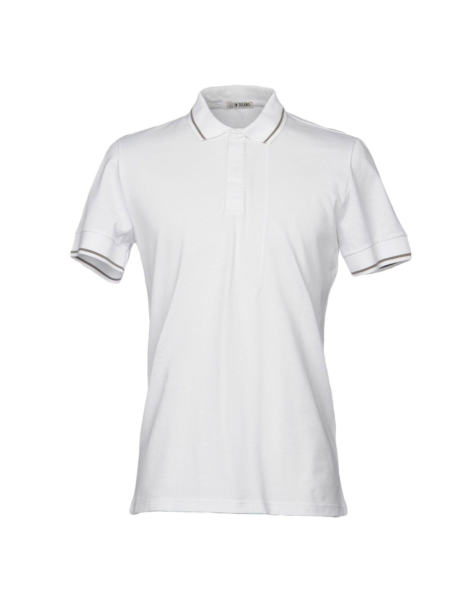 Low Brand Polo Shirt In White