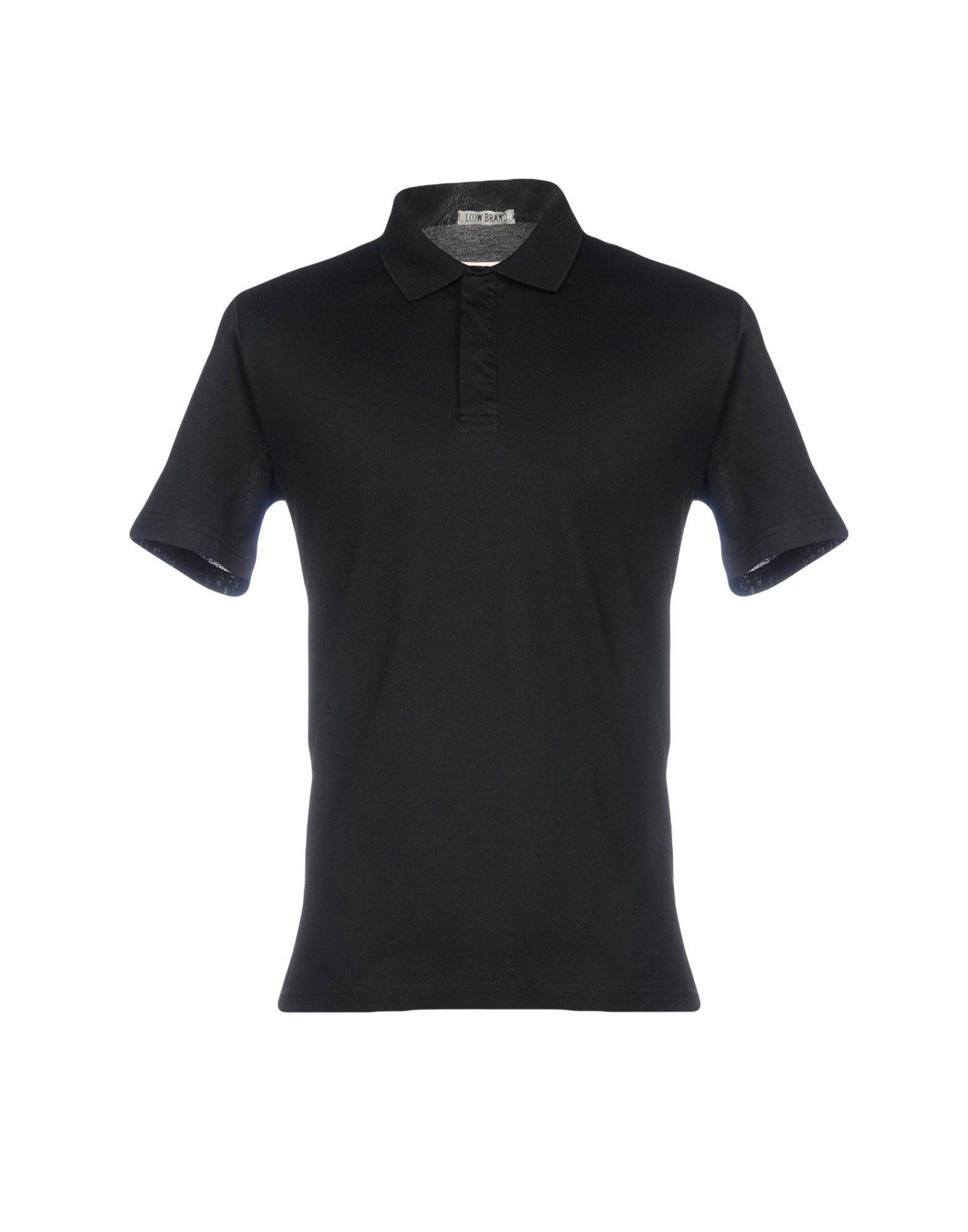 Low Brand Polo Shirts In Black