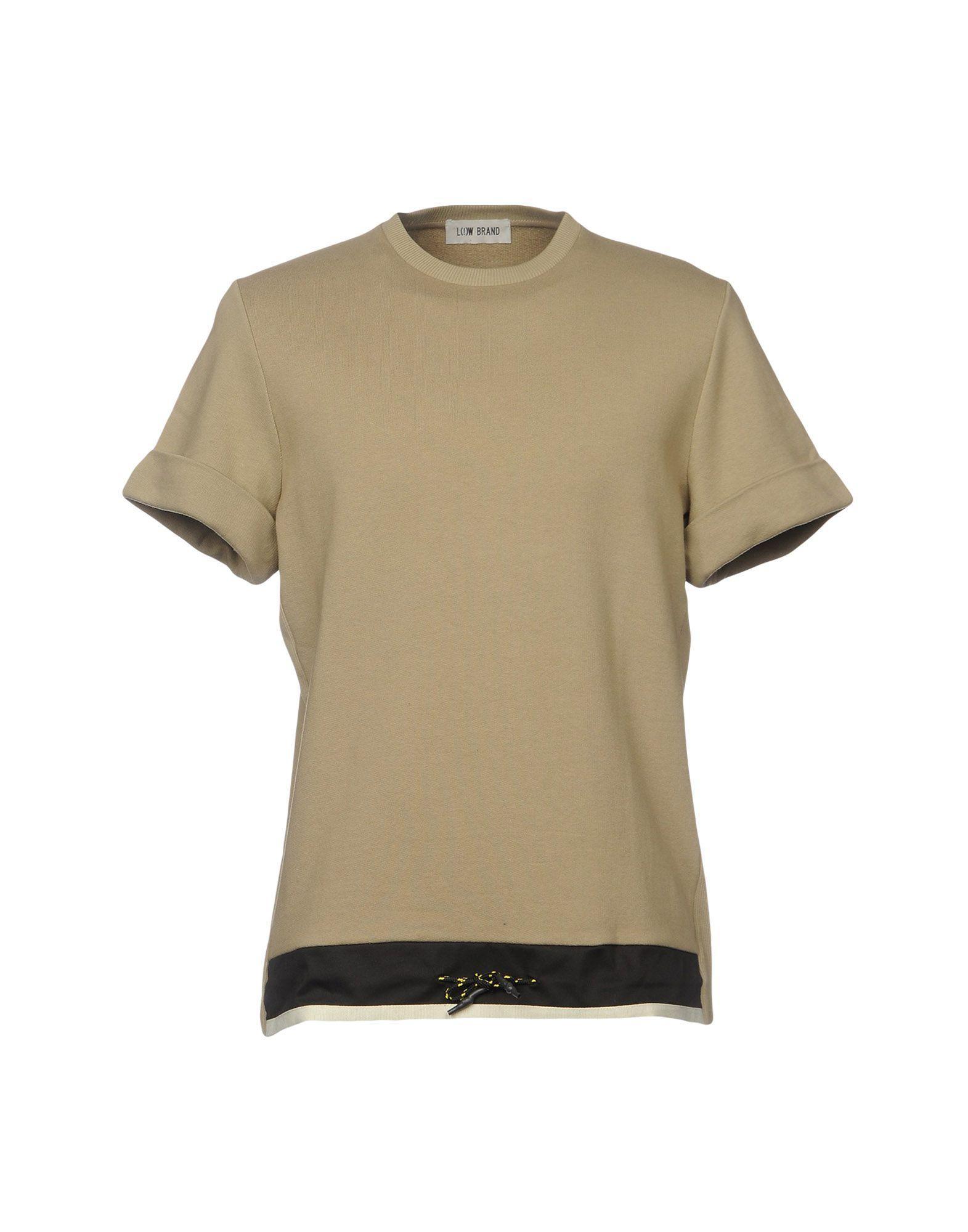 Low Brand Sweatshirt In Khaki
